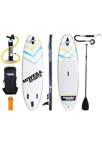MIWEBA Rinkinys: SUP-Board »Mapuna« White-Fre...