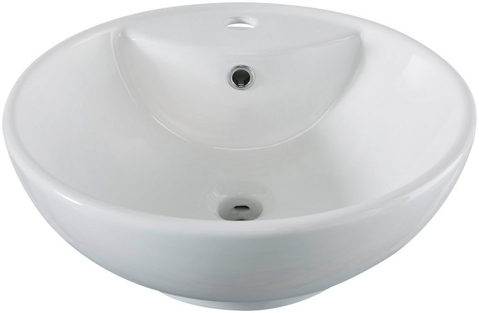 Waschbecken rund  Aufsatzbecken »Milano«, Waschbecken, rund, Breite 46 cm online ...
