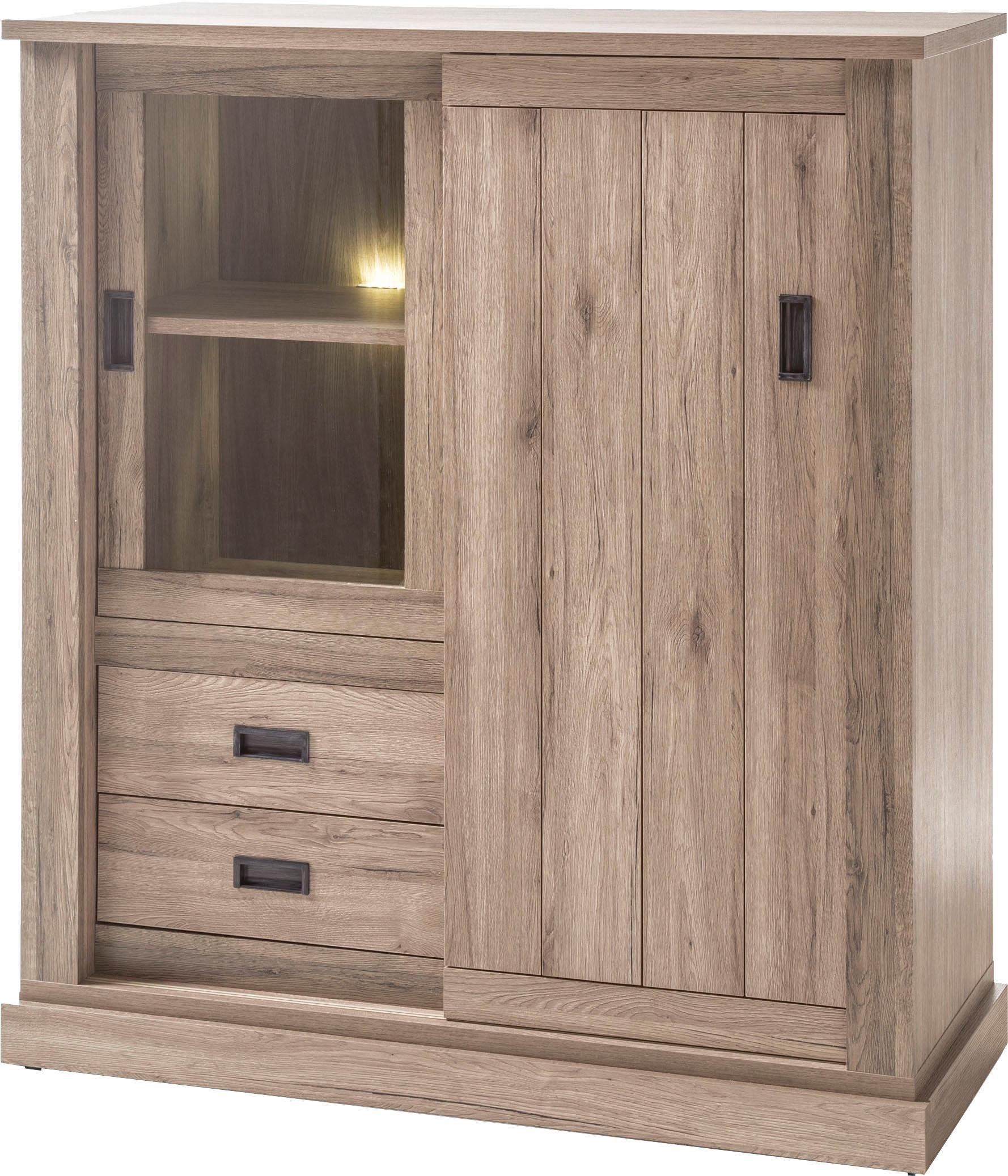 Home affaire Highboard »Anthony«, Breite 140 cm