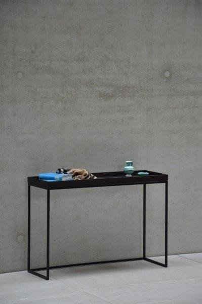 jankurtz Konsolentisch »pizzo«, in verschiedenen Gestellfarben, Breite 100 cm