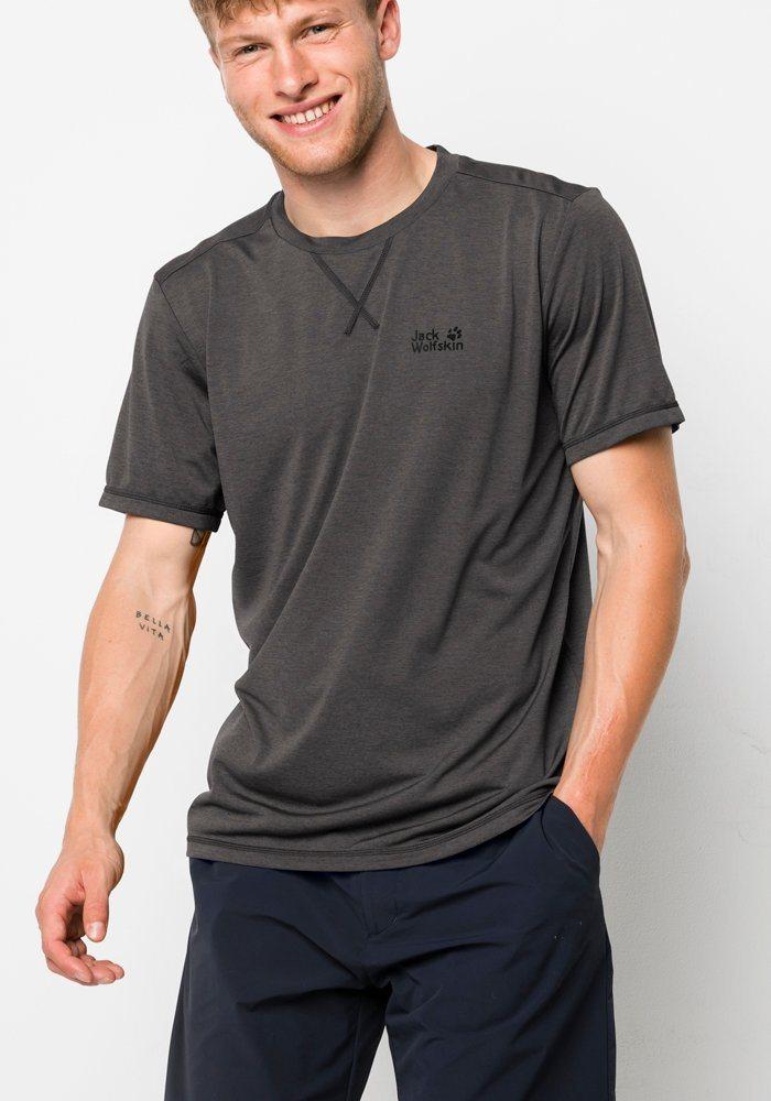 Jack Wolfskin Funktionsshirt »CROSSTRAIL T MEN« | Sportbekleidung > Sportshirts > Funktionsshirts | Jack Wolfskin