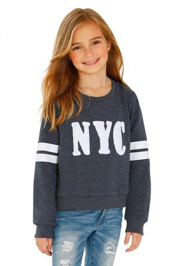 Arizona Sweatshirt in kurzer Form