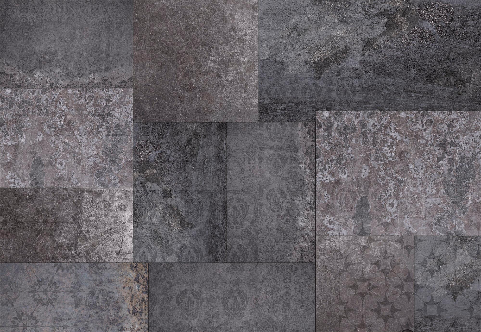 Komar Vlies Fototapete »Ambra Nera« (4er-Set)