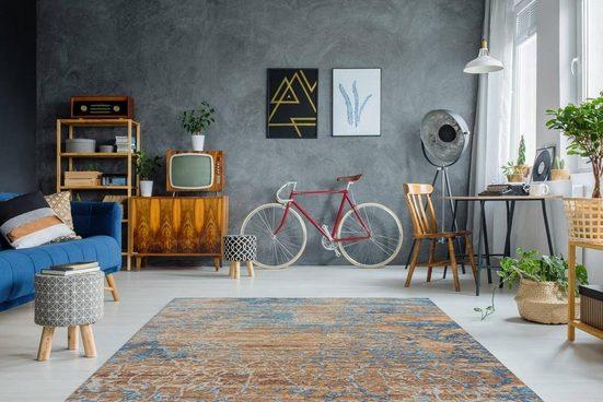 Teppich »Blaze 600«  Arte Espina  rechteckig  Höhe 8 mm  Vintage Optik  mit Baumwolle und Chenille