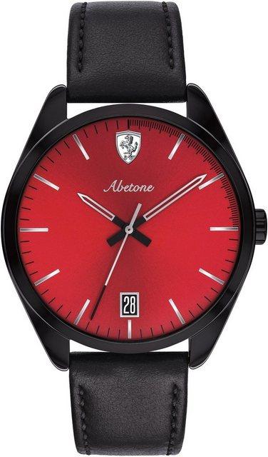 Scuderia Ferrari Quarzuhr »ABETONE, 0830499« | Uhren > Quarzuhren | Schwarz | Scuderia Ferrari