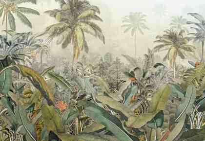 Komar Vlies Fototapete »Amazonia« (4er-Set)