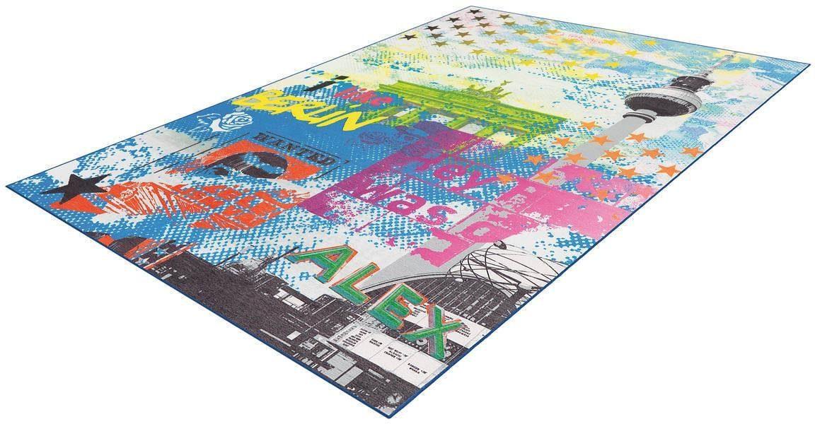 Teppich »Flash 2712«, Arte Espina, rechteckig, Höhe 9 mm
