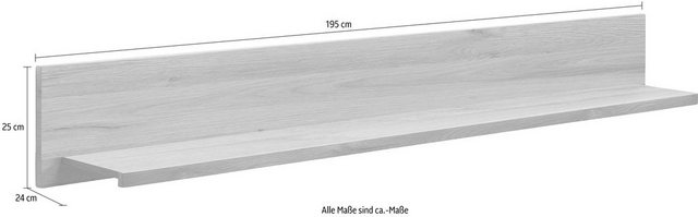 Regale - set one by Musterring Wandboard »madison«, Breite 195 cm  - Onlineshop OTTO