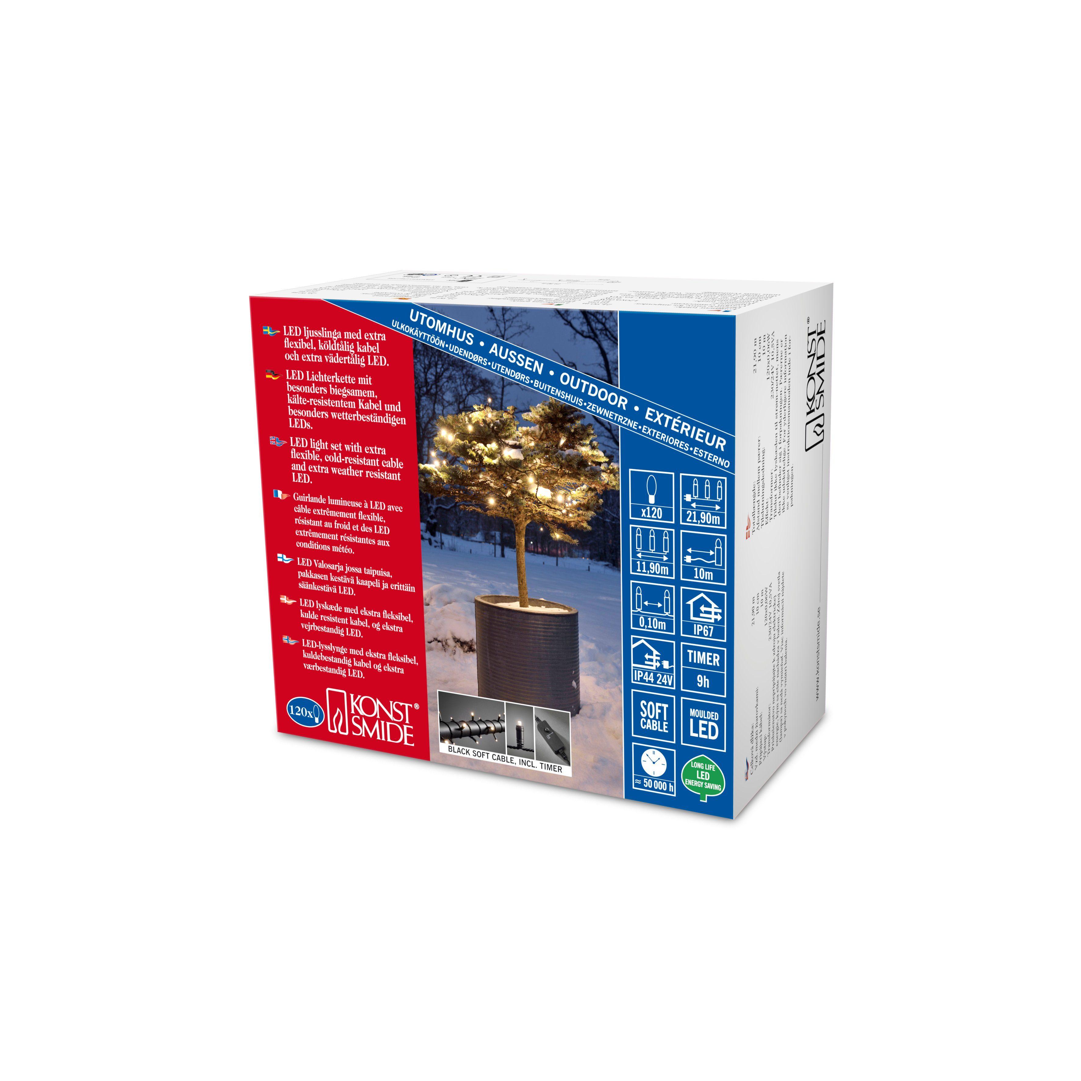 Konstsmide Micro LED Lichterkette