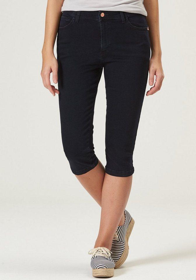 PIONEER Capri Jeans Damen »Betty« | Bekleidung > Jeans > Caprijeans | Blau | Jeans - Baumwolle - Elasthan - Denim | Pioneer Authentic Jeans