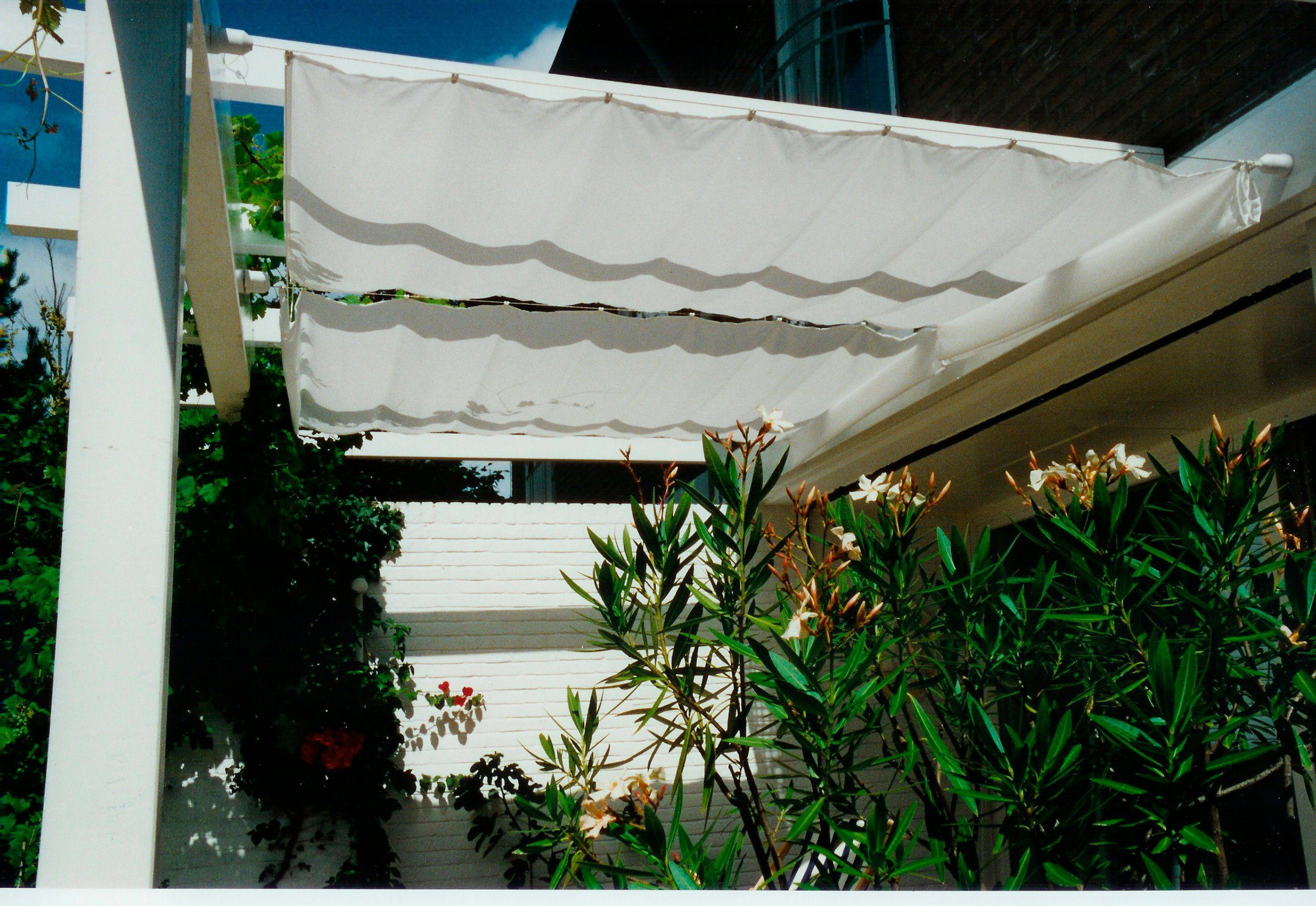 FLORACORD Sonnensegel , BxL: 330x140 cm, elfenbeinfarben