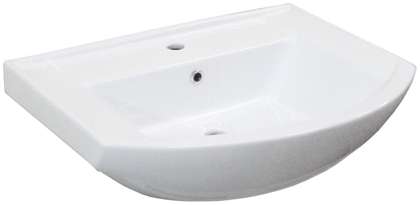 Waschbecken »A-Vero«, Breite 65 cm, Keramik