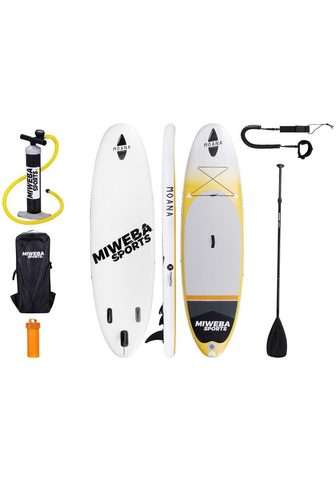 MIWEBA Rinkinys: SUP-Board »Moana« Sunrise-Or...
