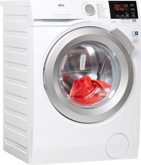 AEG Waschmaschine 6000 L6FB67490, 9 kg, 1400 U/Min | Bad > Waschmaschinen und Trockner > Frontlader | AEG