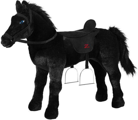 Heunec® Stehpferd »Zorro, XL, schwarz«