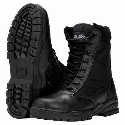 Commando-Industries »Army Patriot Boots Kampfstiefel mit Reißverschluss Schwarz« Stiefel