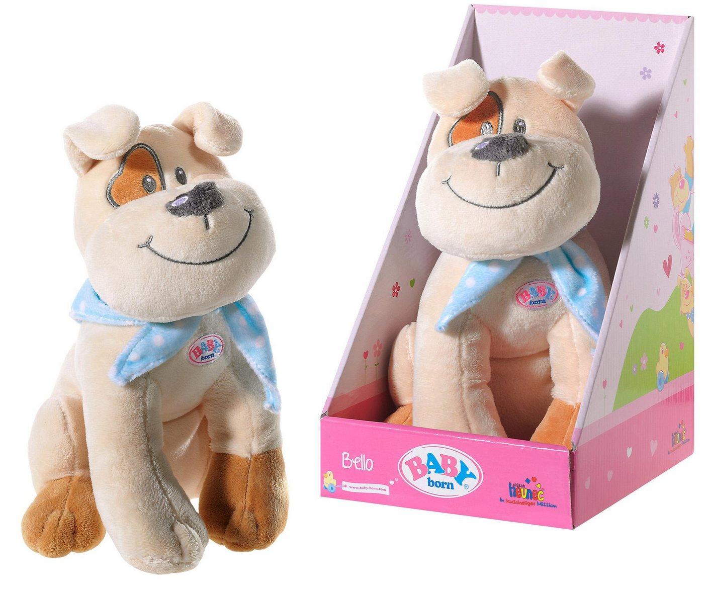 Heunec® Kuscheltier »BABY born®, Hund Bello«