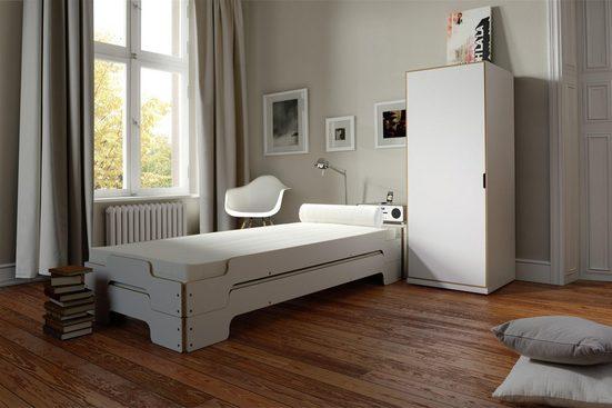 Müller SMALL LIVING Stapelbett »STAPELLIEGE Klassik (eine Liege)«, Gestellhöhe: 23,5 cm