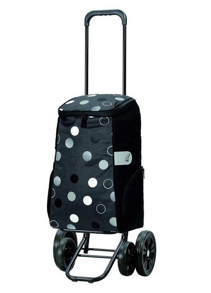 Andersen Einkaufstrolley »Quattro Shopper Sila«, 40 l | Taschen > Handtaschen > Einkaufstasche | Grau | Andersen