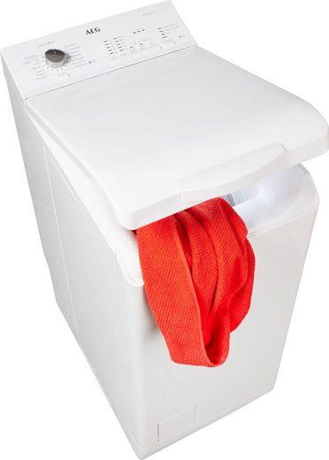 AEG Waschmaschine Toplader L51060TL, 6 kg, 1000 U/Min, Nachlegefunktion
