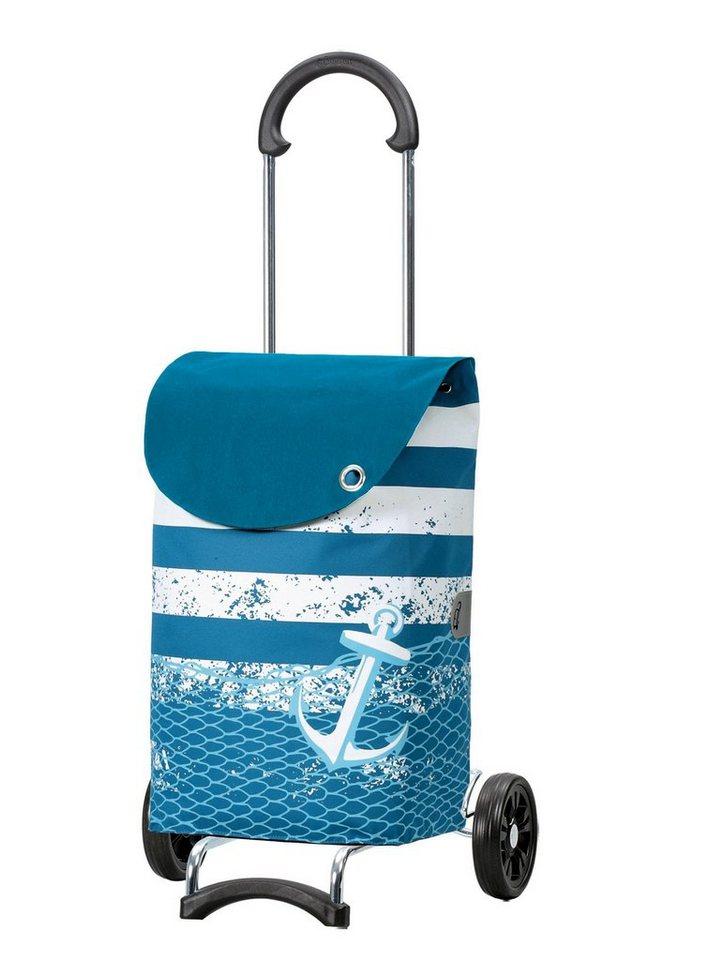 Andersen Einkaufstrolley »Scala Shopper Meer«, 39 l | Taschen > Handtaschen > Einkaufstasche | Blau | Andersen