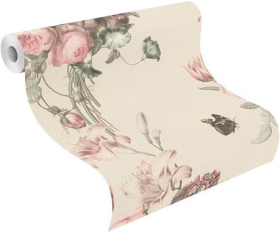 Vliestapete »Barbara«, Motiv, floral, FSC®