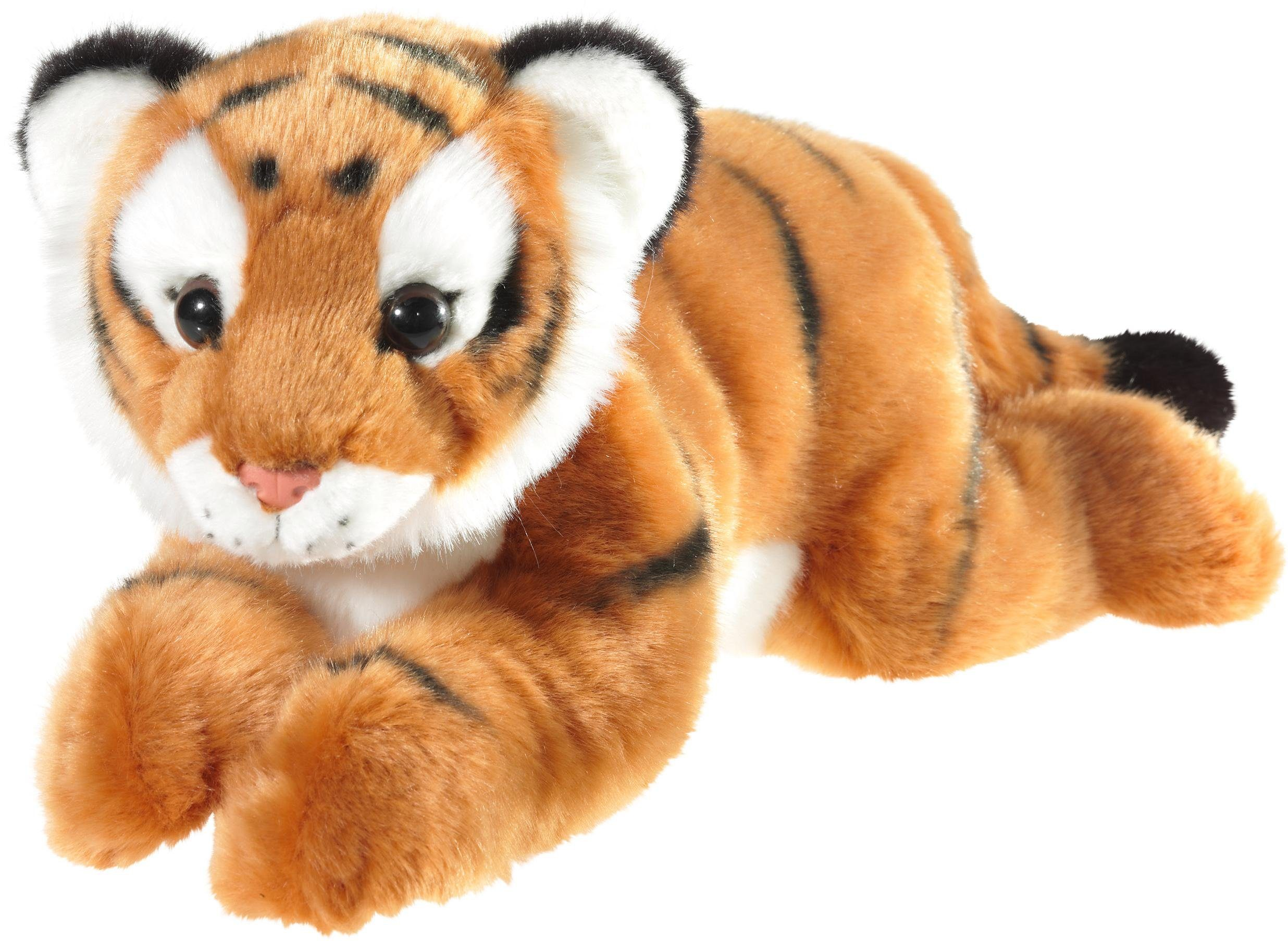 Heunec Plüschtier, »Tiger liegend, 32 cm «