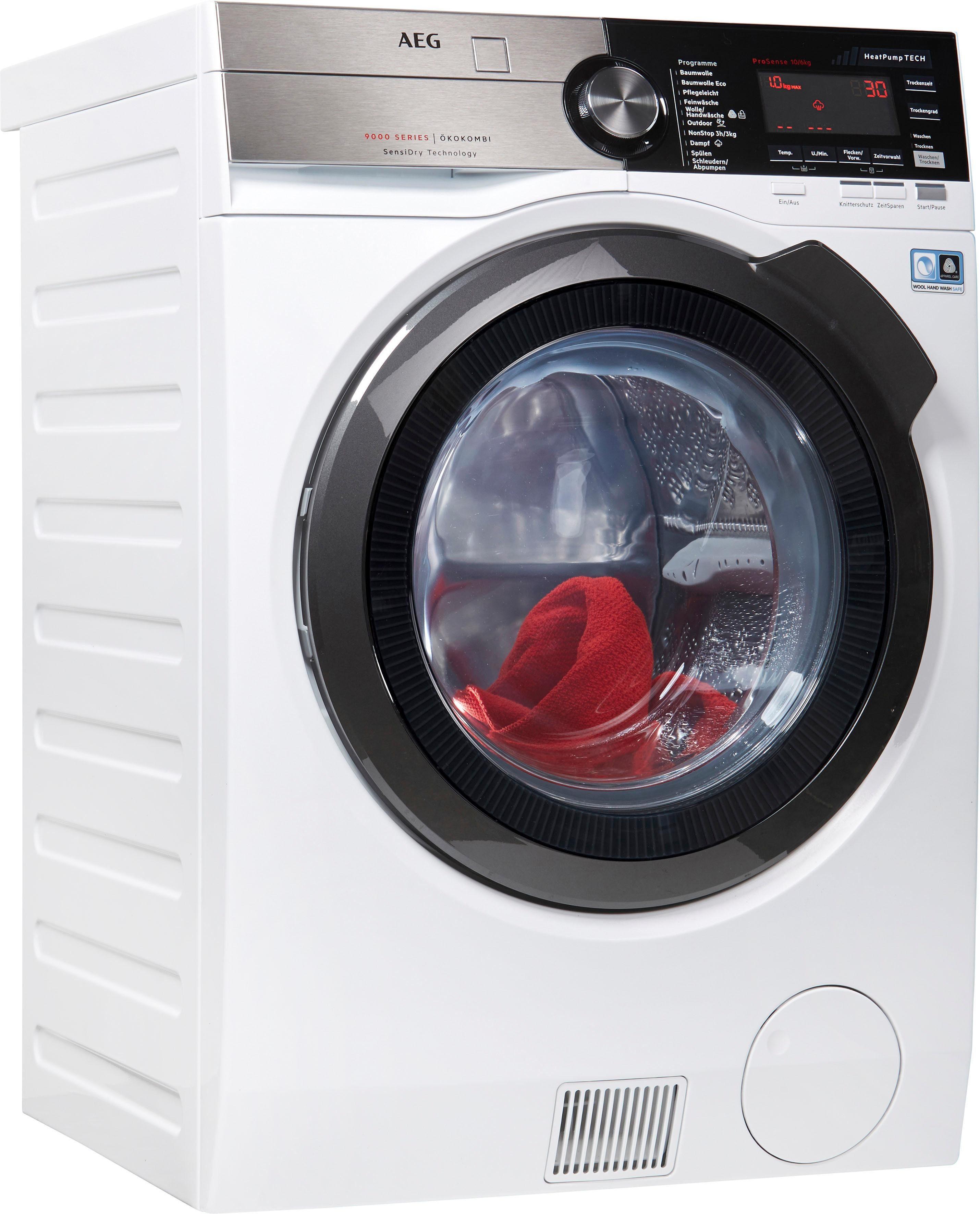 AEG Waschtrockner 9000 L9WE86605, 10 kg / 6 kg, 1600 U/Min