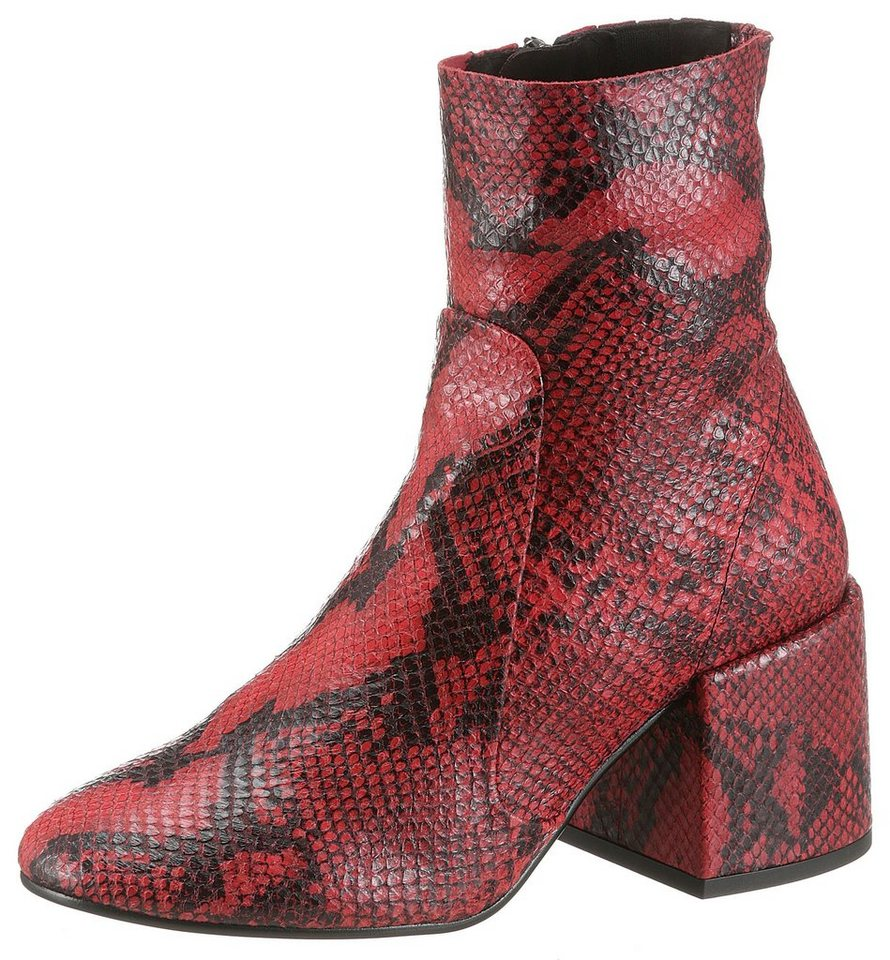 jeffrey campbell -  Stiefelette in Snake-Optik