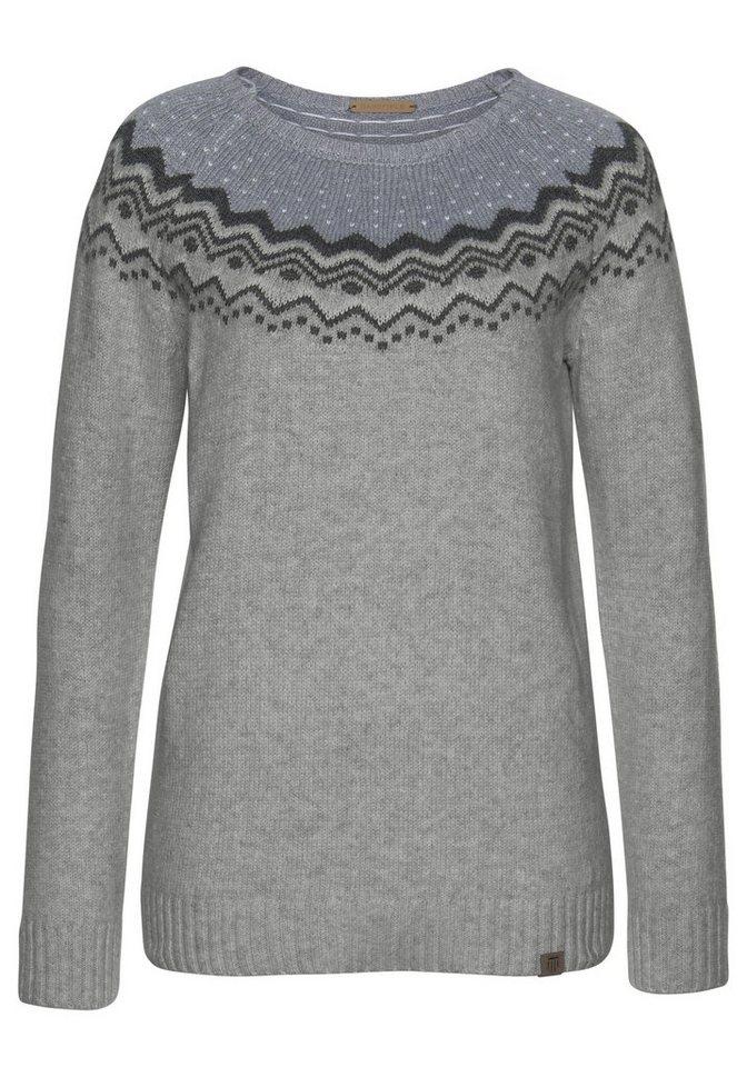 Basefield norwegerpullover im klassischen fair isle muster online kaufen otto - Fair isle pullover damen ...