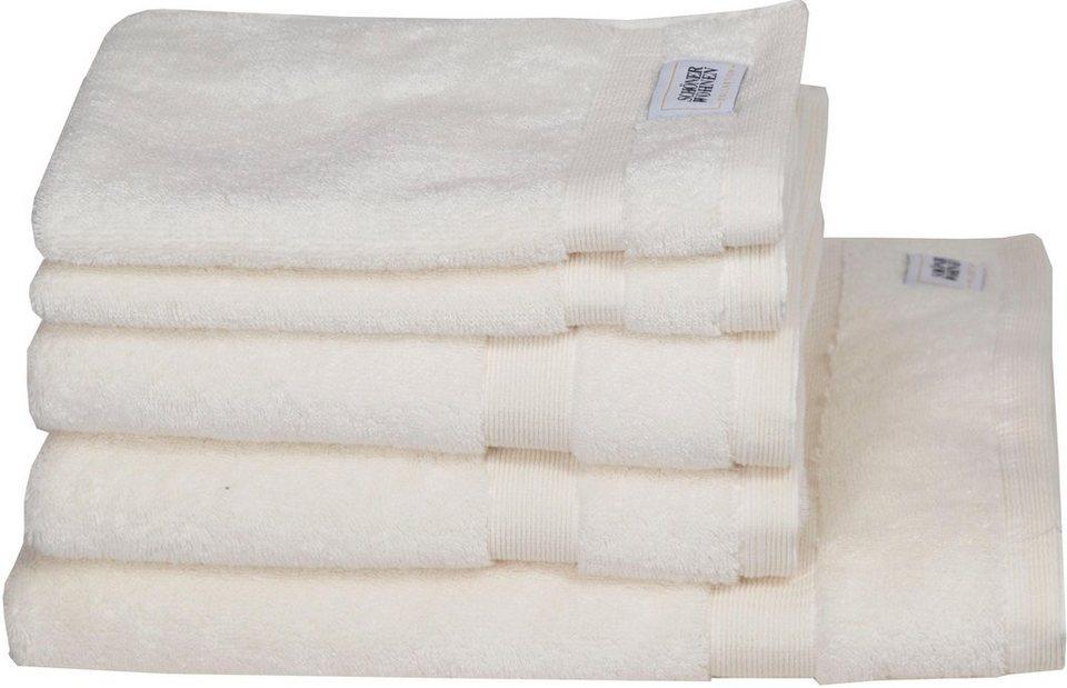 sch ner wohnen kollektion handtuch set cuddly set in unterschiedlichen farben online kaufen. Black Bedroom Furniture Sets. Home Design Ideas