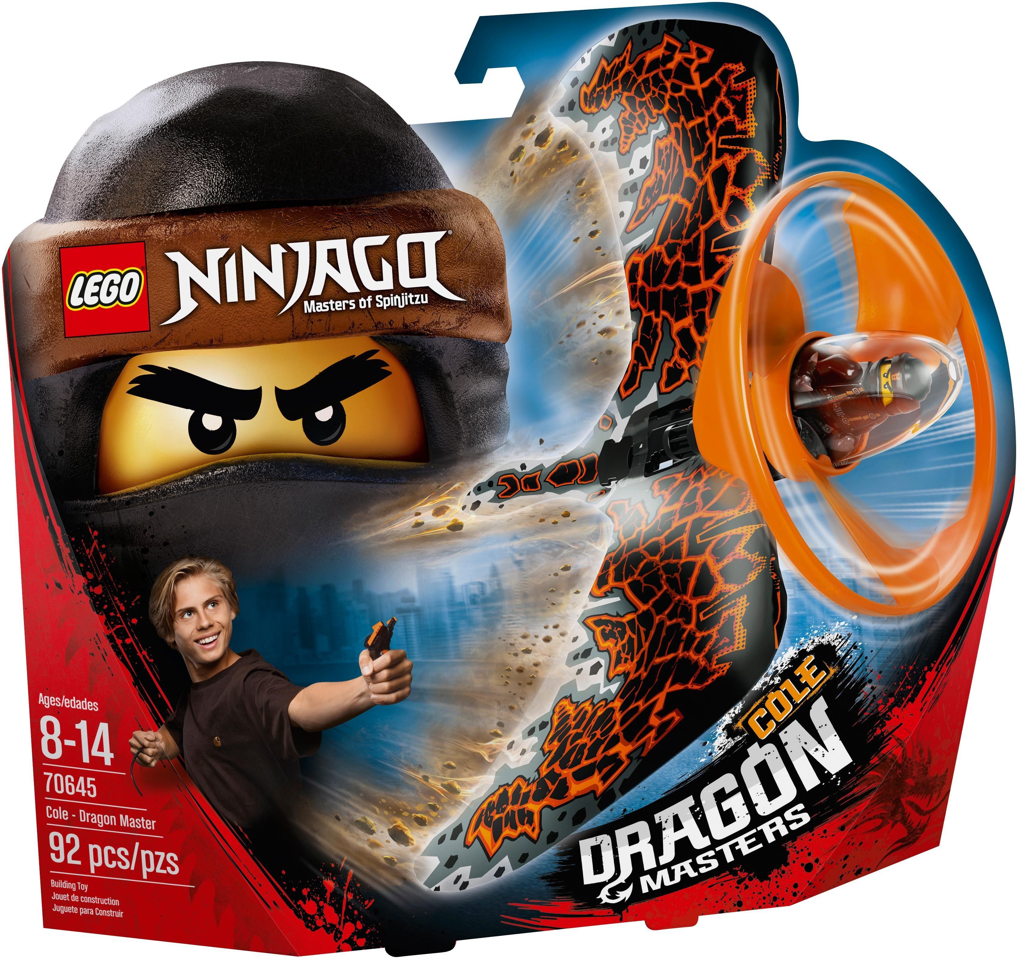 LEGO® Drachenmeister Cole (70645), »LEGO® NINJAGO®«
