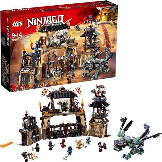 LEGO® Konstruktionsspielsteine »Drachengrube (70655), LEGO® NINJAGO®«, (1660 St)