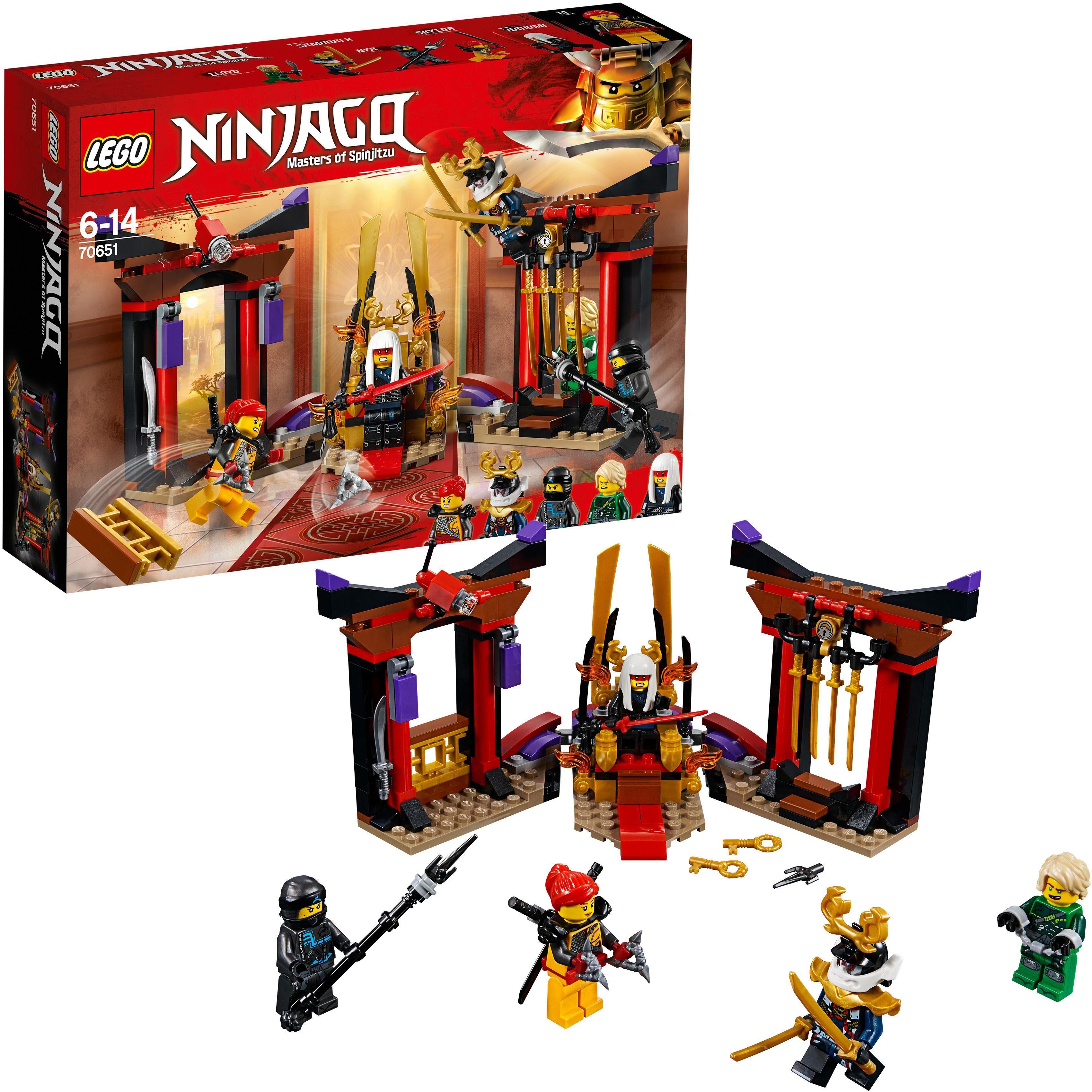 LEGO® Duell im Thronsaal (70651), »LEGO® NINJAGO®«