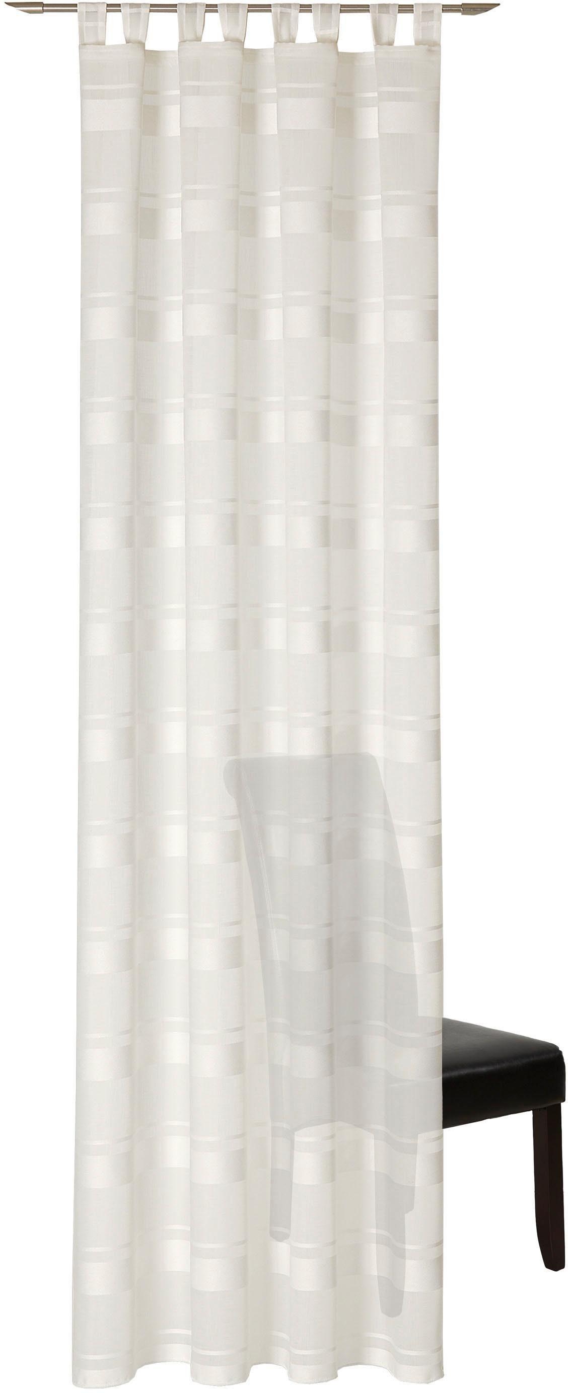 Vorhang »Sylt«, DEKO TRENDS, Schlaufen (1 Stück), Schlaufenschal mit 8 Schlaufen