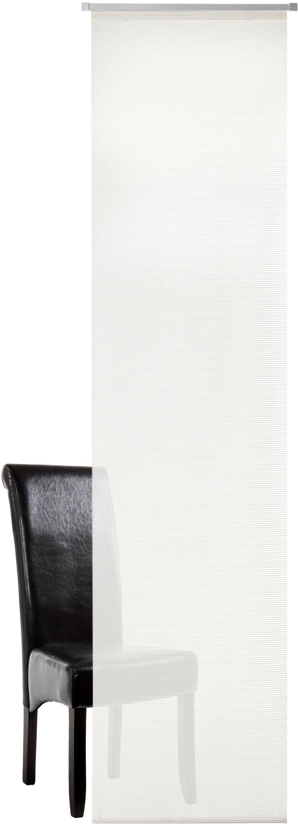 Vorhang »Torben«, DEKO TRENDS, Paneelwagen (1 Stück), Schiebevorhang mit Alupaneelwagen