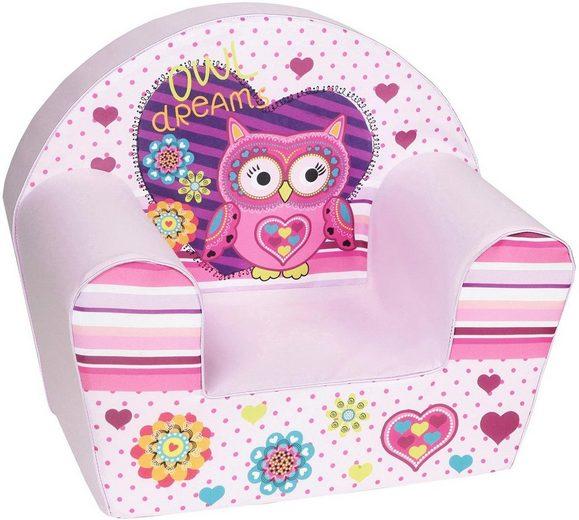 Knorrtoys® Sessel »Owl«