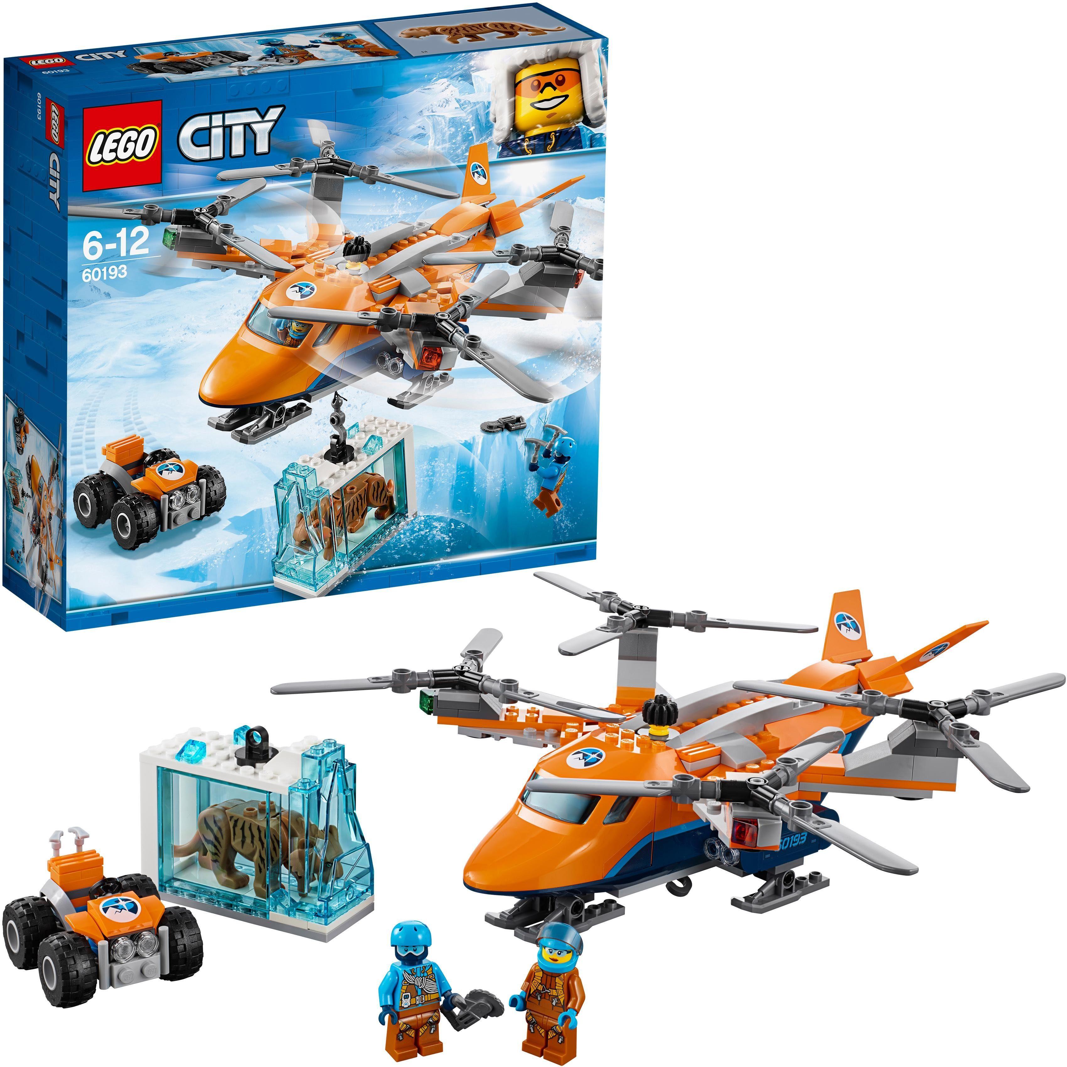 LEGO® Konstruktionsspielsteine »Arktis-Frachtflugzeug (60193), LEGO® City«, (277 tlg)