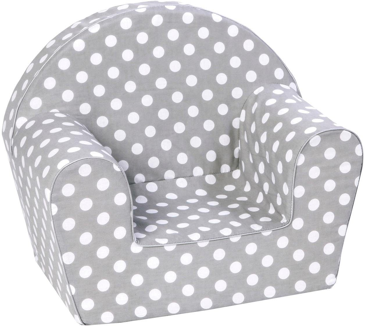 knorr toys Kindersessel, »Dots, grey«