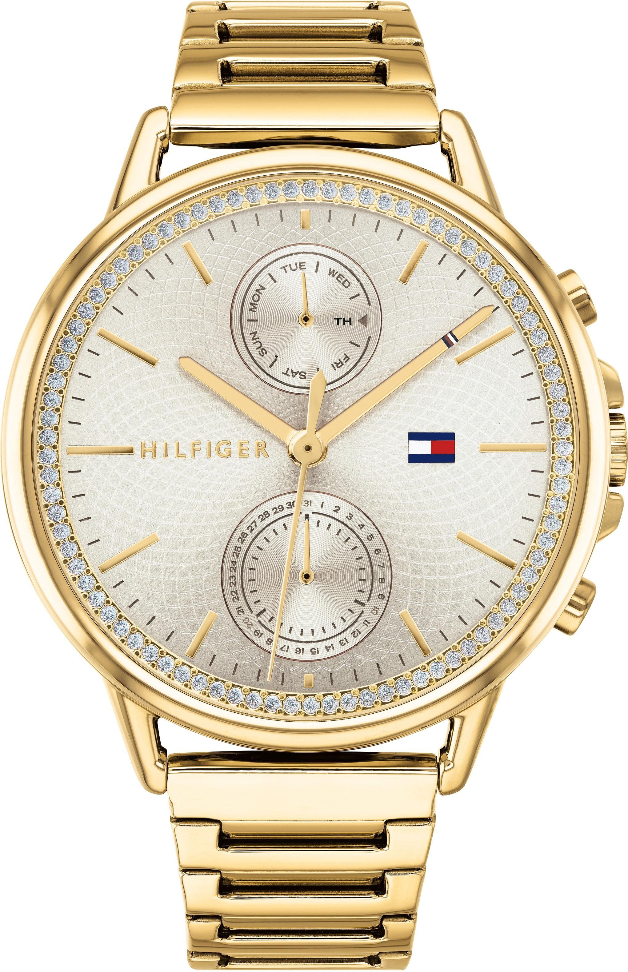 Tommy Hilfiger Multifunktionsuhr »DRESSED UP, 1781916«