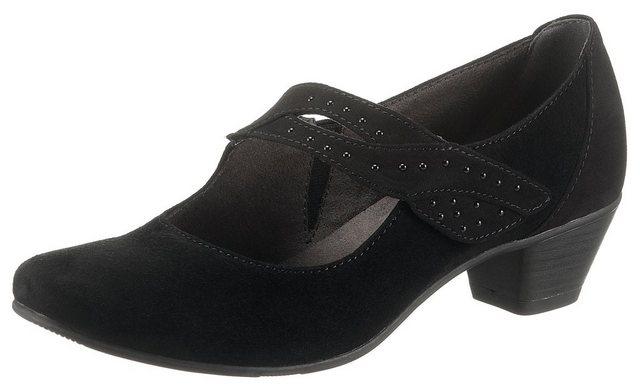 jana -  Spangenpumps in bequemer Schuhweite H (sehr weit)
