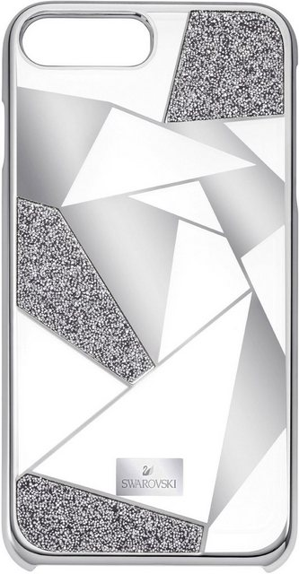 Swarovski »Heroism Etui mit integriertem Bumper, iPhone® 8 Plus, 5352909« Smartphone-Hülle iPhone® 8 Plus | Accessoires > Etuis | Grau | Swarovski