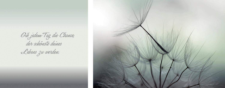 Leinwandbild »Leben«, (Set, 2 St), 2er-Set