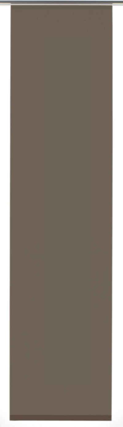 Schiebegardine »Flächenvorhang Entry mit weißen Paneelwagen«, GARDINIA, Paneelwagen (1 Stück), HxB: 245x60