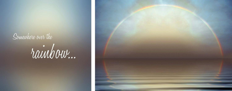 Leinwandbild »Rainbow«, (Set, 2 St), 2er-Set