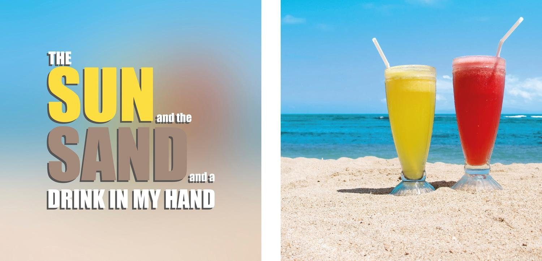 Leinwandbild »Drink in my Hand«, (Set, 2 St), 2er-Set