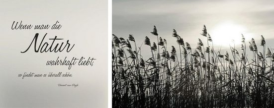 Leinwandbild »Natur«, (Set), 2er-Set