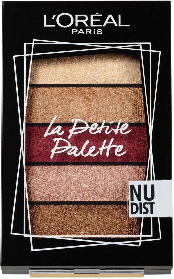 LORÉAL PARIS Lidschatten-Palette »La Petite Palette Stylist«, Puder-zu-Creme-Textur online