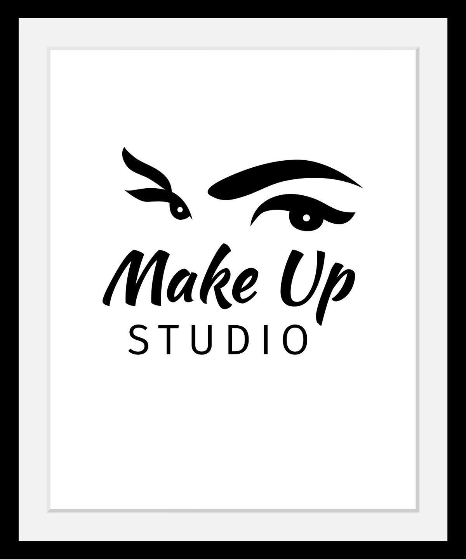 Bild »Make up Studio«, in 3 Größen, gerahmt