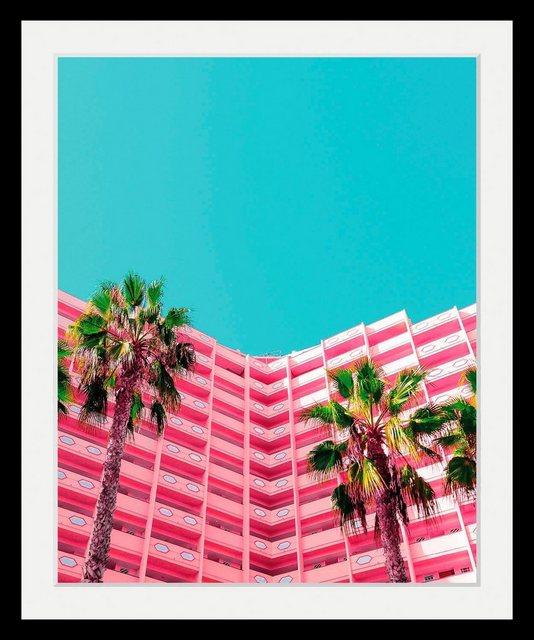 Bild »Hotel«  in 3 Größen  gerahmt   Dekoration > Bilder und Rahmen > Bilder   OTTO